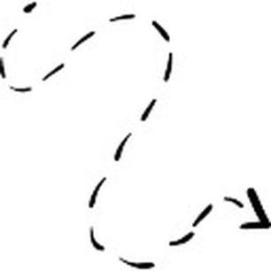 fleche-courbe-avec-la-ligne-brisee_318-80498